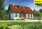 Проект одноэтажного дома с мансардой  - Муратор Ц239